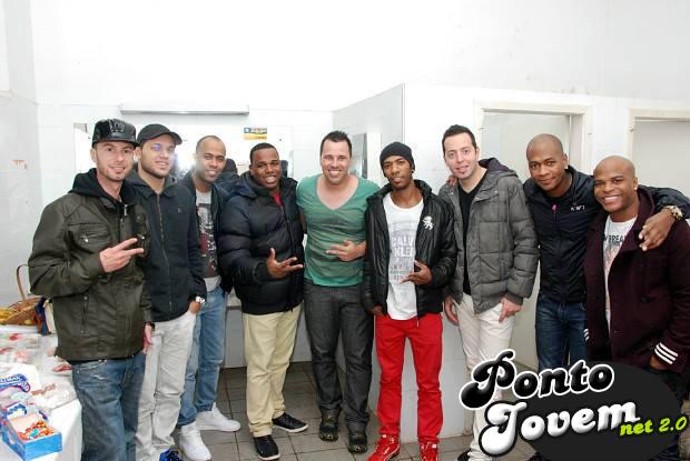 Robson Paulo com o grupo Turma do Pagode