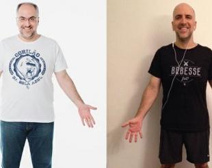 Antonio Tabet, da Porta dos Fundos, conta como perdeu 28 quilos em tr�s meses