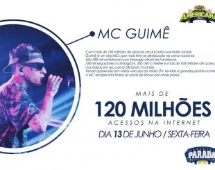MC Guim� abre palco Parada Funk no Rodeio de Americana
