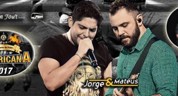Jorge & Mateus são confirmados como os representantes oficiais da 31ª Festa do Peão de Americana