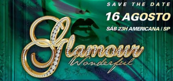 Sorteio de 2 pares de ingressos � cada 15 dias para a festa Glamour